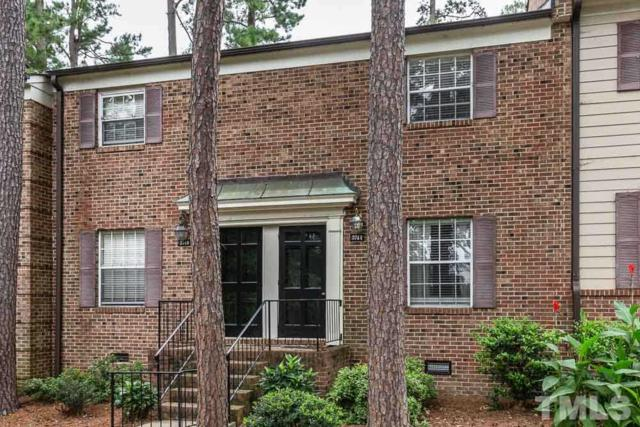 3744 Jamestown Circle #3744, Raleigh, NC 27609 (#2215194) :: RE/MAX Real Estate Service