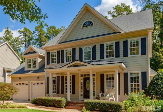 105 Branchside Lane, Holly Springs, NC 27540 (#2215398) :: The Jim Allen Group