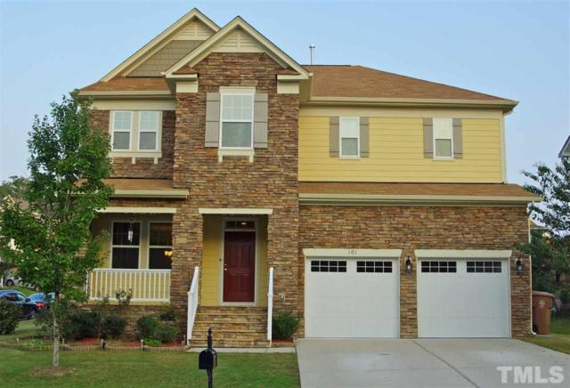101 Carter Grove Court, Morrisville, NC 27560 (#2215740) :: The Abshure Realty Group