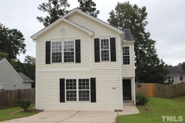 2847 Maidenhair Drive, Raleigh, NC 27610 (#2216185) :: The Abshure Realty Group