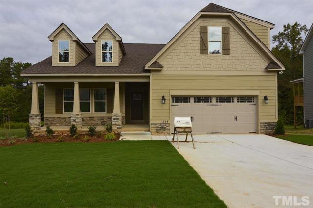 668 Airedale Trail, Garner, NC 27529 (#2216480) :: The Perry Group