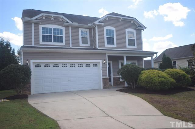 104 Saltybrook Lane, Holly Springs, NC 27540 (#2217345) :: The Jim Allen Group