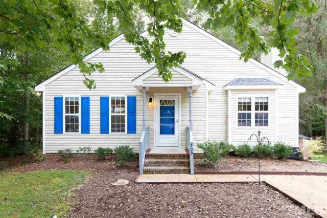 709 Wallridge Drive, Wake Forest, NC 27587 (#2217962) :: The Perry Group