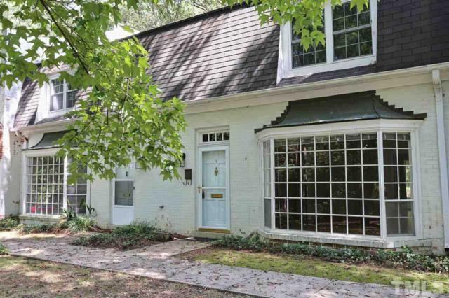9 Banbury Lane #9, Chapel Hill, NC 27517 (#2218113) :: RE/MAX Real Estate Service
