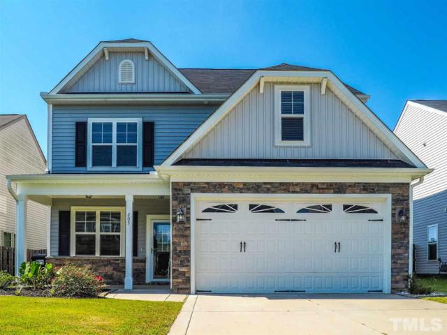 205 Marsh Creek Drive, Garner, NC 27529 (#2218310) :: Raleigh Cary Realty