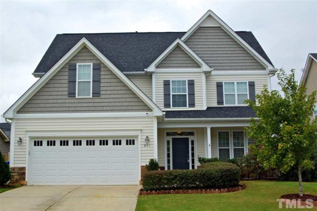 841 Ribbonleaf Lane, Fuquay Varina, NC 27526 (#2218409) :: The Jim Allen Group