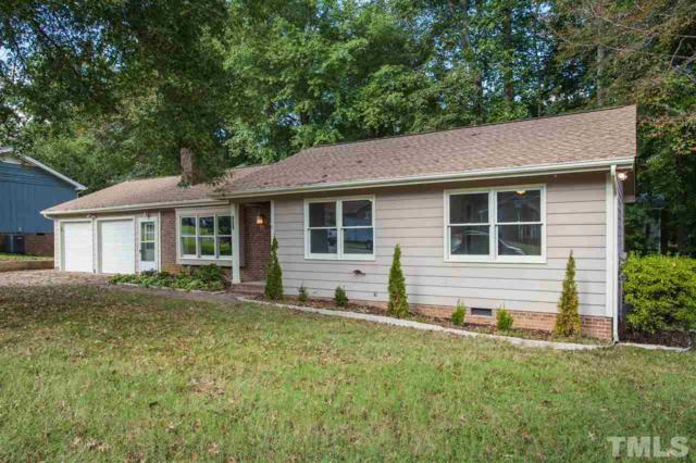 809 Pinewood Drive, Apex, NC 27502 (#2218983) :: The Abshure Realty Group