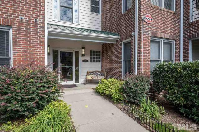 720 N Person Street #302, Raleigh, NC 27604 (#2219750) :: The Jim Allen Group