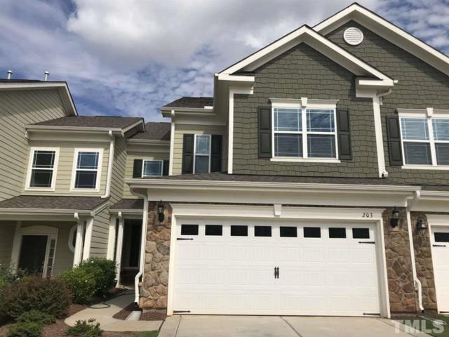 203 Mayfield Drive, Apex, NC 27539 (#2219885) :: Better Homes & Gardens | Go Realty