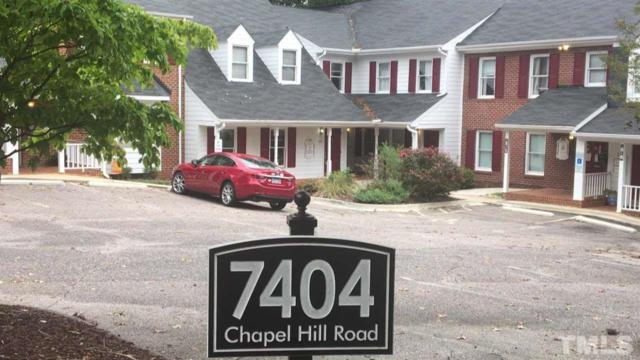7404-E & F Chapel Hill Road, Raleigh, NC 27607 (#2220855) :: Raleigh Cary Realty
