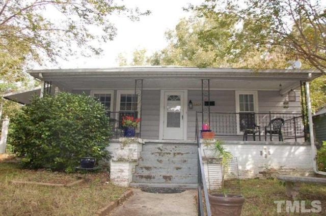 1207 E Martin Street, Raleigh, NC 27610 (#2221362) :: M&J Realty Group