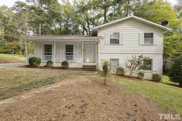 402 Hillcrest Road, Apex, NC 27502 (MLS #2221712) :: The Oceanaire Realty