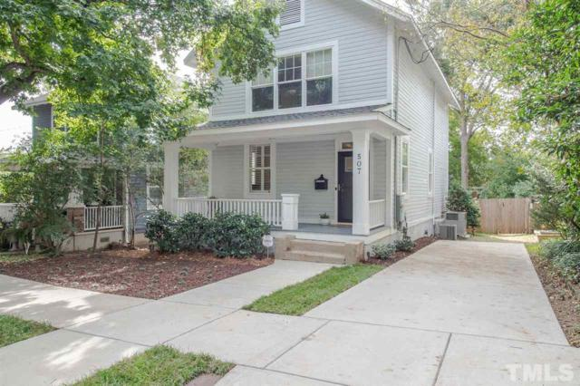 507 Adams Street, Raleigh, NC 27605 (#2222234) :: The Perry Group