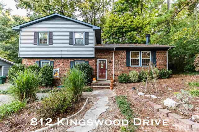 812 Kingswood Drive, Cary, NC 27513 (#2222377) :: The Perry Group