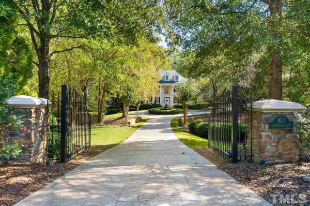 103 Bronzewood Court, Cary, NC 27518 (#2222716) :: The Perry Group