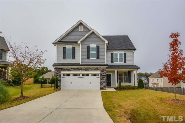 6204 Hirondelle Court, Holly Springs, NC 27540 (#2222724) :: The Perry Group