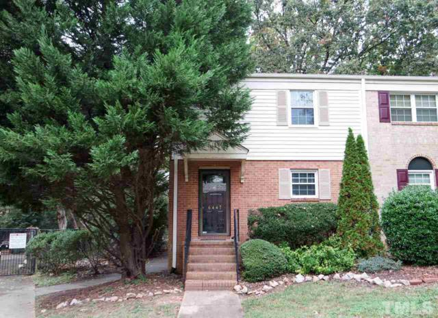 6447 New Market Way N/A, Raleigh, NC 27615 (#2222839) :: The Perry Group