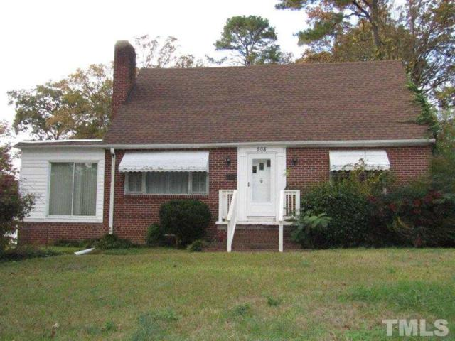 508 W Chisholm Street, Sanford, NC 27330 (#2224231) :: The Perry Group