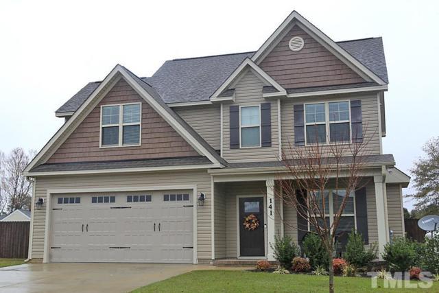 141 Braddock Drive, Lillington, NC 27546 (#2224722) :: The Beth Hines Team