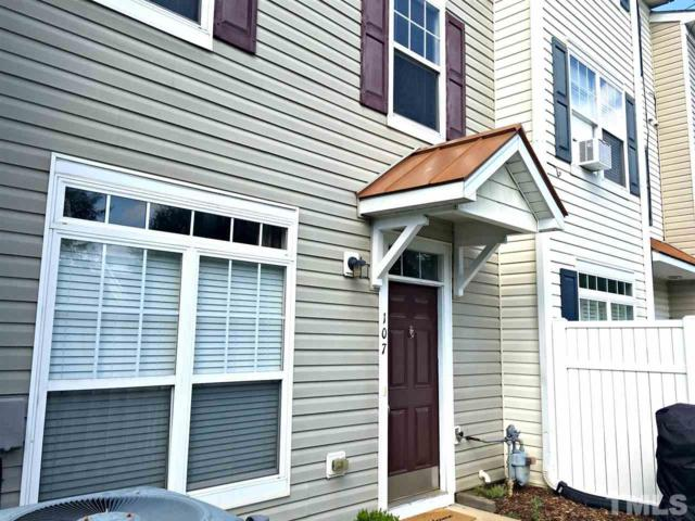 2210 Valley Edge Drive #107, Raleigh, NC 27614 (#2226291) :: Raleigh Cary Realty