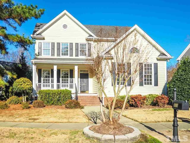 233 Elmcrest Drive, Holly Springs, NC 27540 (#2227038) :: Morgan Womble Group