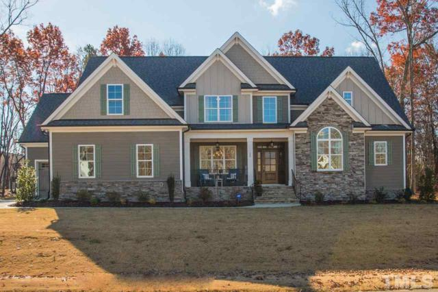 25 Carlson Ridge Drive, Youngsville, NC 27596 (#2227305) :: M&J Realty Group