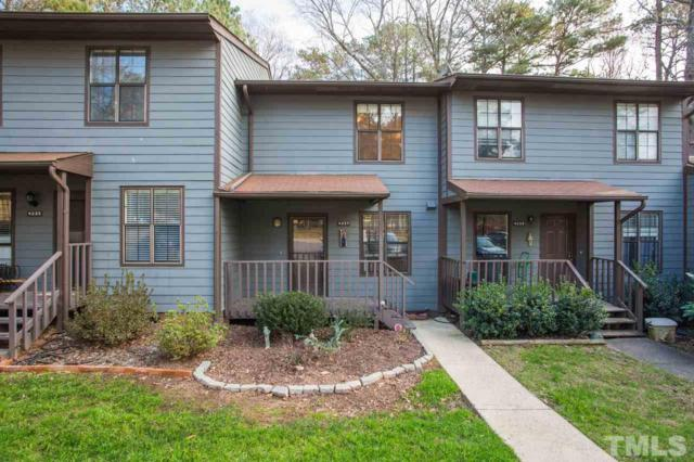4237 The Oaks Drive #4237, Raleigh, NC 27606 (#2227778) :: Marti Hampton Team - Re/Max One Realty