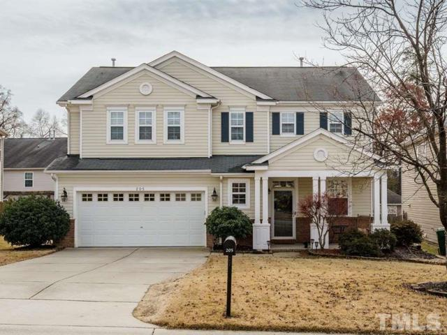 205 Ashdale Drive, Fuquay Varina, NC 27526 (#2228102) :: The Jim Allen Group