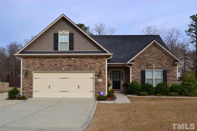 233 Wood Valley Drive, Four Oaks, NC 27524 (#2229005) :: The Perry Group