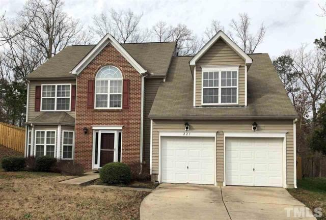 221 Talley Ridge Drive, Holly Springs, NC 27540 (#2230168) :: Morgan Womble Group