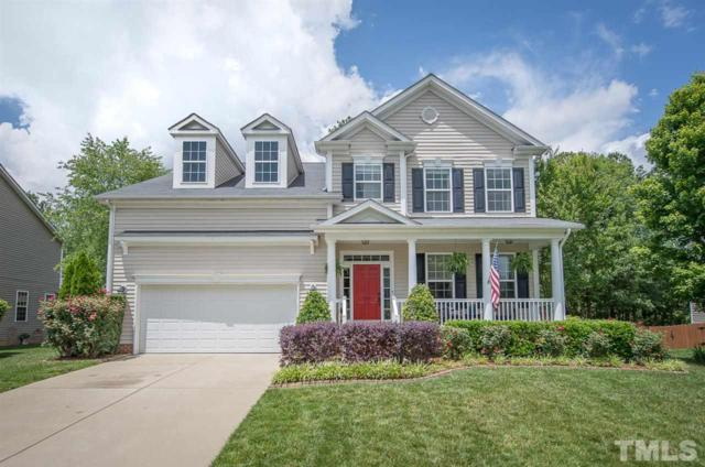 120 Magnolia Meadow Way, Holly Springs, NC 27540 (#2230285) :: Rachel Kendall Team