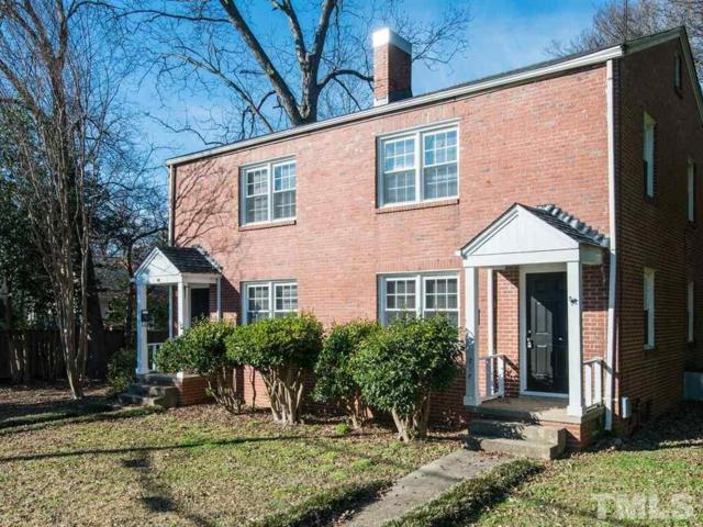 708 + 710 W Aycock Street, Raleigh, NC 27608 (#2231117) :: Morgan Womble Group