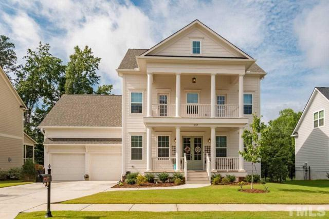 209 Ironcreek Place, Holly Springs, NC 27539 (#2231637) :: The Jim Allen Group