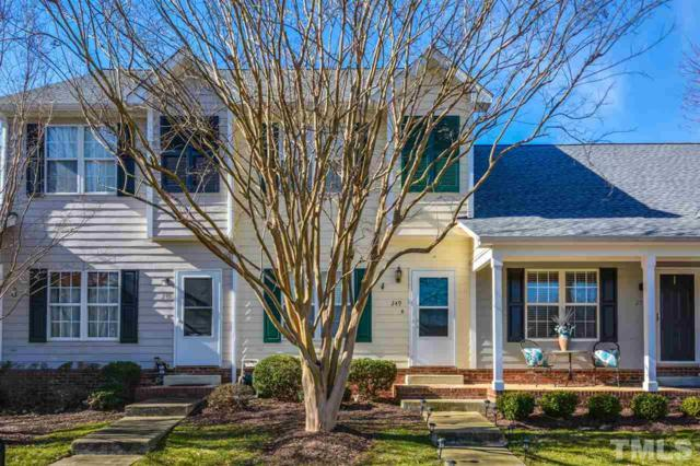 249 Commons Drive, Holly Springs, NC 27540 (#2231759) :: Raleigh Cary Realty
