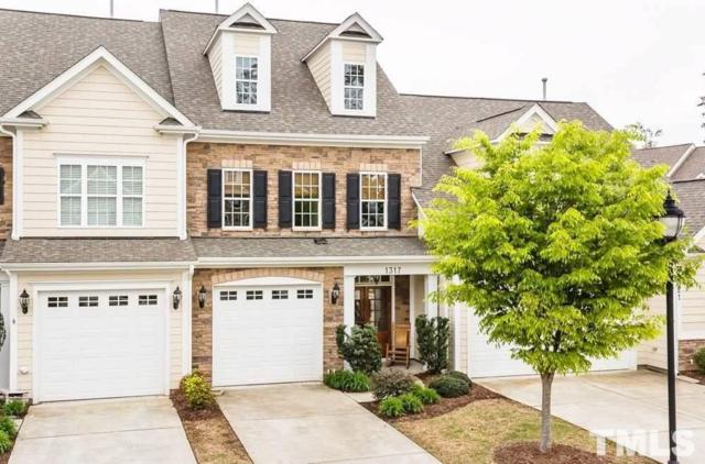 1317 Checkerberry Drive, Morrisville, NC 27560 (#2231832) :: The Beth Hines Team