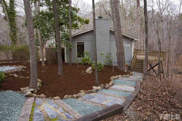 840 Shady Lawn Road, Chapel Hill, NC 27514 (MLS #2232438) :: The Oceanaire Realty