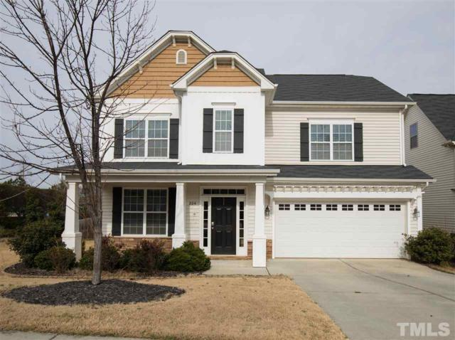 204 Forest Haven Drive, Holly Springs, NC 27540 (#2232562) :: Rachel Kendall Team