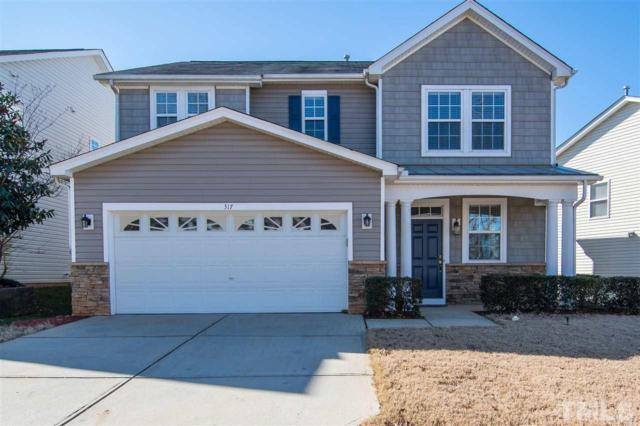 317 Amacord Way, Holly Springs, NC 27540 (#2232970) :: Rachel Kendall Team