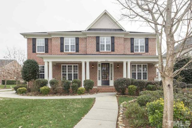 201 Meadowcrest Place, Holly Springs, NC 27540 (#2233534) :: Raleigh Cary Realty