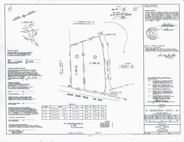 Lot 2 Jimmie Kerr Road, Graham, NC 27253 (#2234441) :: Sara Kate Homes