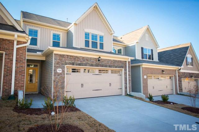 564 Brunello Drive #59, Wake Forest, NC 27587 (#2235214) :: Raleigh Cary Realty