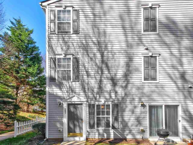 2831 Barrymore Street #107, Raleigh, NC 27603 (#2235916) :: The Jim Allen Group