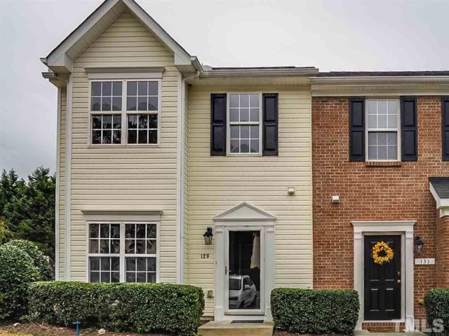 129 Anterbury Drive, Apex, NC 27502 (#2237375) :: M&J Realty Group