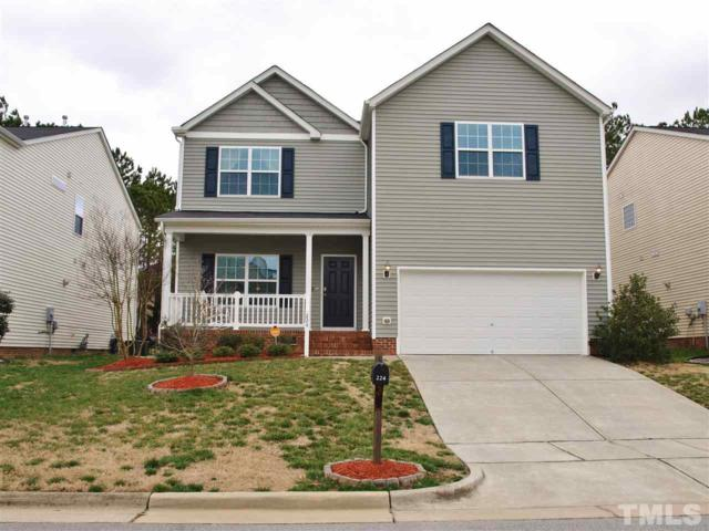 224 Switchback Street, Knightdale, NC 27545 (#2240420) :: The Perry Group