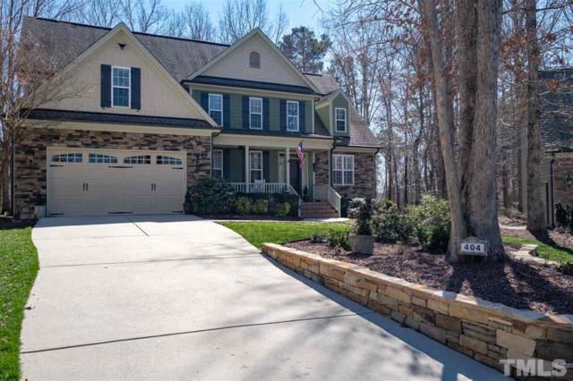 404 Gambit Circle, Wake Forest, NC 27587 (#2242043) :: Raleigh Cary Realty