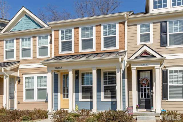 2801 Stone Rock Drive #105, Raleigh, NC 27604 (#2242449) :: The Perry Group