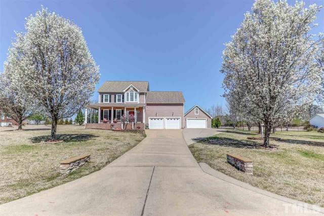 154 Mels Meadow Drive, Fuquay Varina, NC 27526 (MLS #2242633) :: The Oceanaire Realty