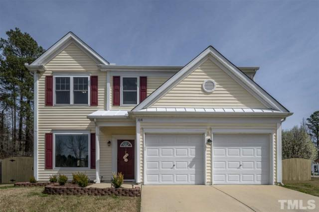 108 Grassy Point Road, Apex, NC 27502 (#2242657) :: The Perry Group