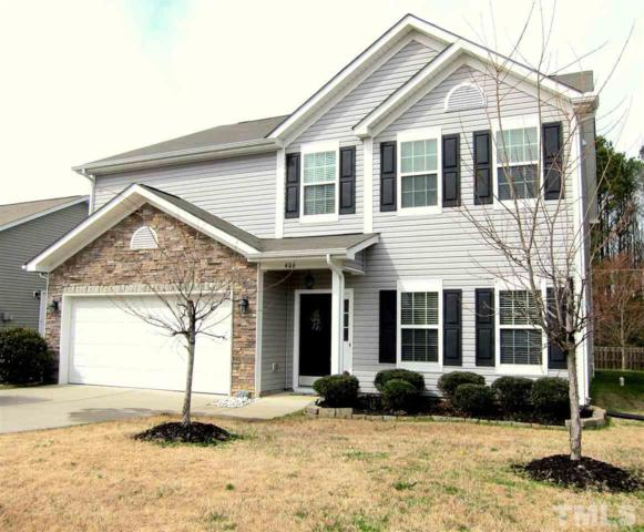 406 Hidden Treasure Drive, Durham, NC 27712 (#2242767) :: Rachel Kendall Team