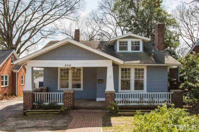 508 E Whitaker Mill Road, Raleigh, NC 27608 (#2242853) :: Dogwood Properties